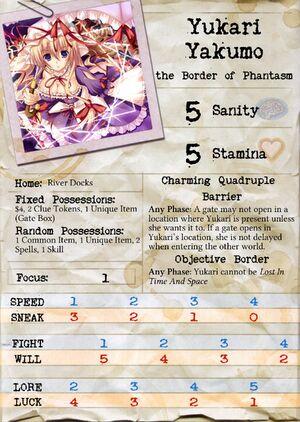 Yukari Card