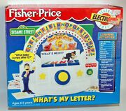 Sesame Street What's My Letter game