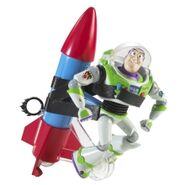 Mega Action Rocket Running Buzz Lightyear