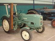 MAN tractor with mid mower - bath- DSC01603