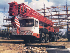 A 1980s JONES 461 Cranetruck Hydraulic TD