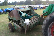 Welger WSA 350 baler at Old Warden 09 - IMG 1366