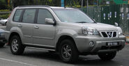 Nissan X-Trail (first generation) (front), Serdang