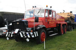 Scammell Contractor - XUP 999F at Earls Barton Rally 09 - IMG 5973