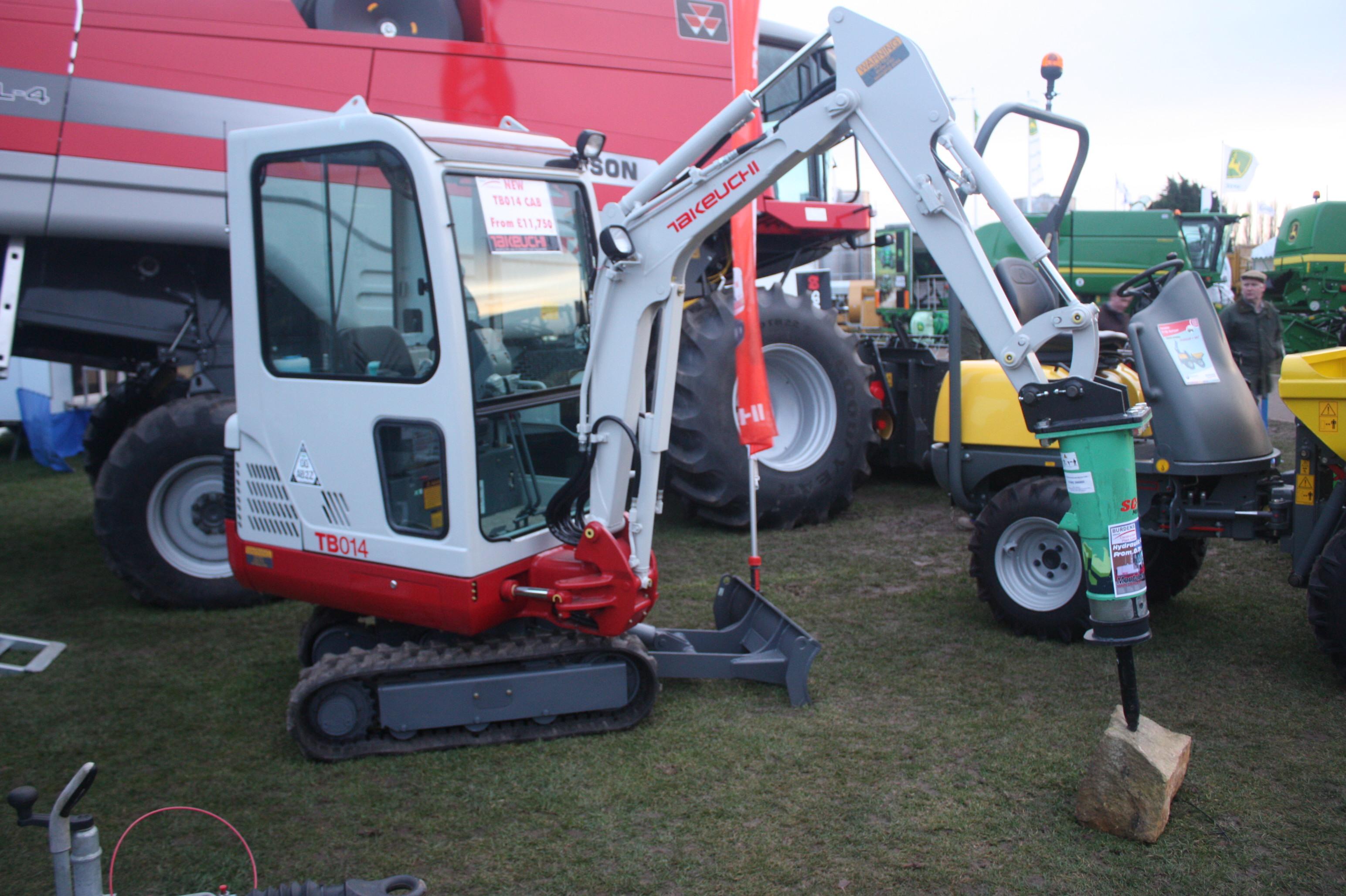 takeuchi tractor construction plant wiki fandom powered by wikia takeuchi tb014 mini digger breaker 4758