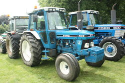 Ford 7810 SII reg F131 HAM at Newby 09 - IMG 2387