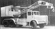 Neal QM Series on Thornycroft lorry
