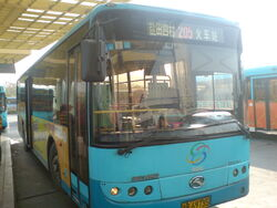 Bus in Shenzhen