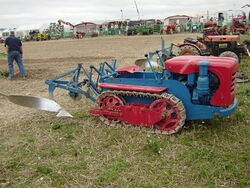 Ransomes MG40 with plough
