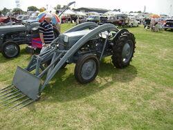 Ferguson Diesel with Banana loader - P7270201