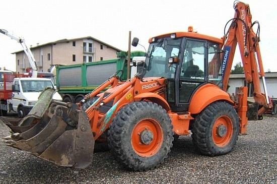fiat hitachi fb200 backhoe tractor construction plant wiki fandom powered by wikia. Black Bedroom Furniture Sets. Home Design Ideas