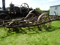 Steam Powered Cultivator