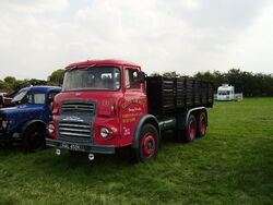 Albion with tipper body at Lymswold - P7270170