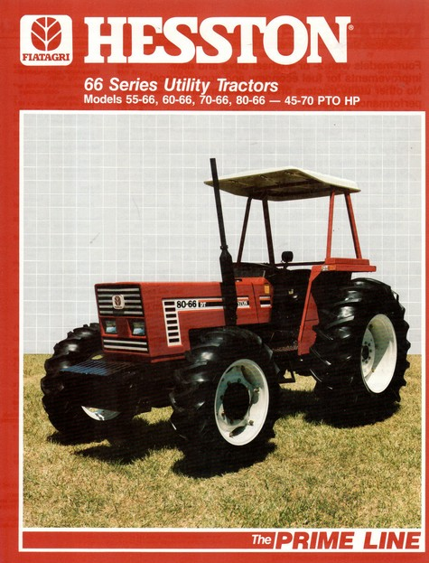 Hesston 80 66 Dt Tractor Amp Construction Plant Wiki