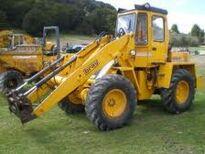 A 1980s BRAY PS4000B 4WD Loader