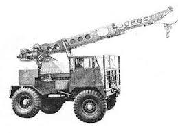 1967 TAYLOR JUMBO Series 43 4X4 Mobile Crane