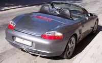 Porsche Boxster hr silver