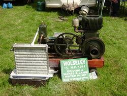 Wolseley engine of 1947