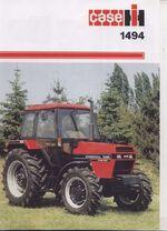 Case IH 1494 MFWD brochure - 1986