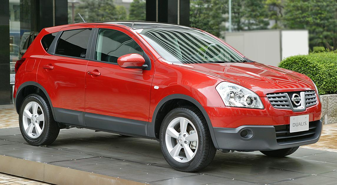 Nissan Qashqai | Tractor & Construction Plant Wiki ...