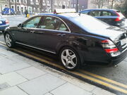 Mercedes S-Class taxi