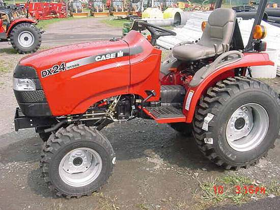 Case International Garden Tractors : Case ih dx farmall hydro tractor construction plant