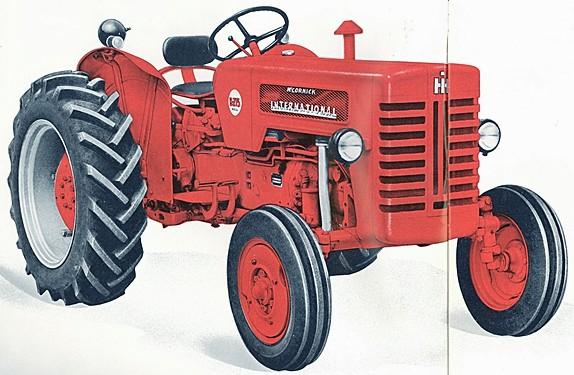 1960 International Tractor : Image mccormick international b g tractor