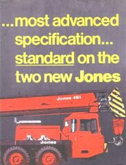 Jones 461 Vickers AWD cranetruck