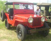 '46 Jeep CJ (Auto classique Laval '10)