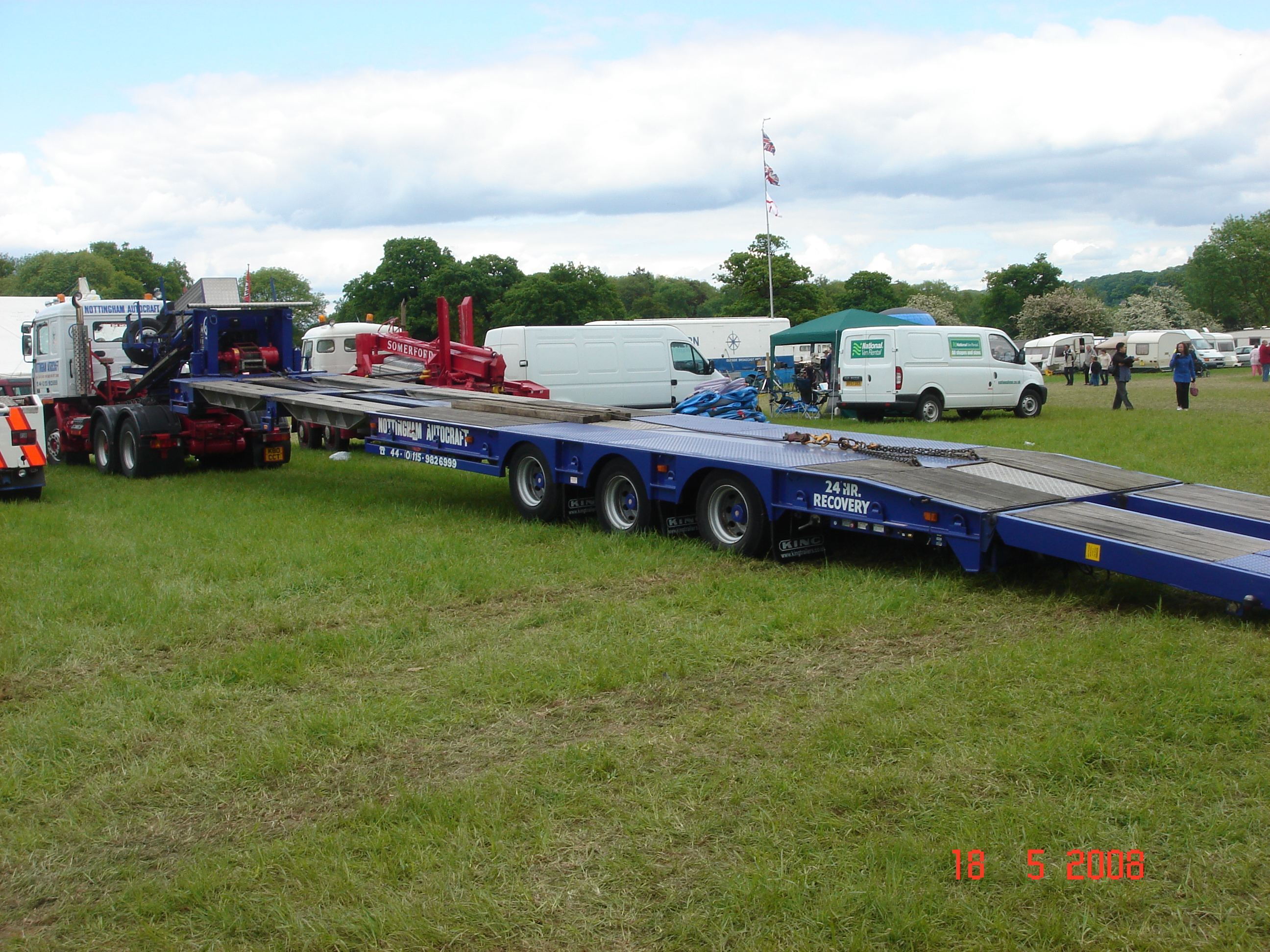 Recovery Trailers uk Recovery Trailer Showwing Low