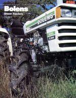 Bolens G244 MFWD brochure - 1979