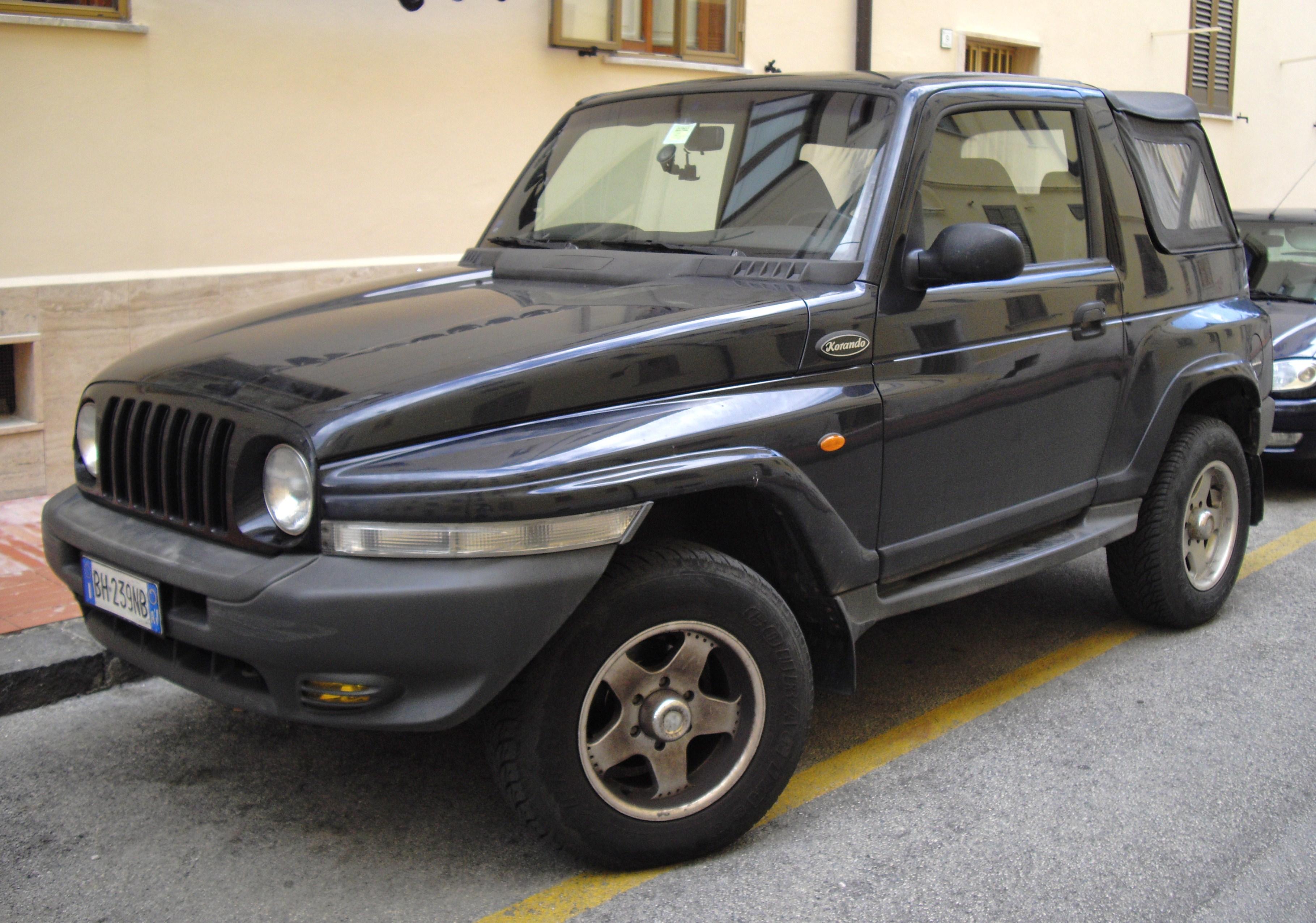 Fiche technique Daewoo Korando de 2000 à 2004