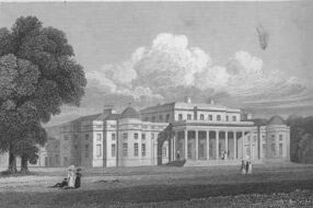 Shugborough Hall Jones' Views 1829