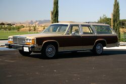 1982 ltd country squire frontleft
