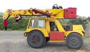 1970 TAYLOR JUMBO 4WD Crane Diesel