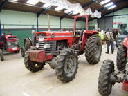 Massey Ferguson 165 with Four-wheel Traction conversion at Bath 09 - P1140190