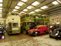 Lincoln Transport Museum - interiorP7080238