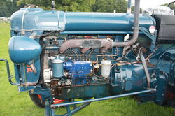 Perkins P6 in a Fordson E27N
