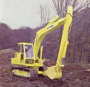 HY-MAC 580 ALL HYDRAULIC EXCAVATOR.