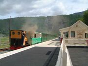 LAKE RAILWAY, LLANBERIS