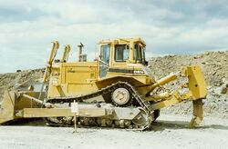 Cat D8R with ripper SCAN0104