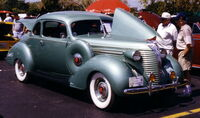 1938 Terraplane Coupe liteblue at AACA show Florida F