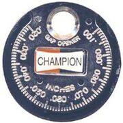 Spark plug gauge