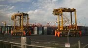 Melbourne--swanston-dock-container-carrier