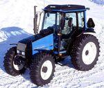 Valtra Valmet 600 MFWD (blue)