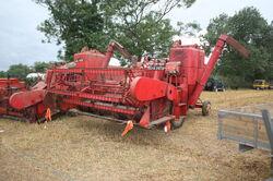 Massey 788 combine