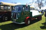 Seddon Diesel flatbed reg XAC 299 (MK7?) at Boroughbridge CV 09 - IMG 8918