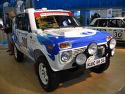 Lada niva T3 rally mims