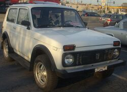 Lada Niva (Orange Julep)