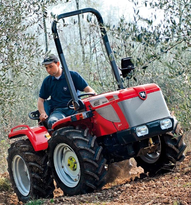 Antonio Carraro Tigrone 6500 Jona   Tractor & Construction ...